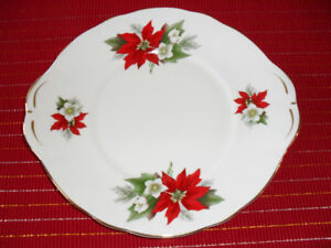 Bone China Christmas Plate