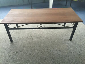 Wooden top table