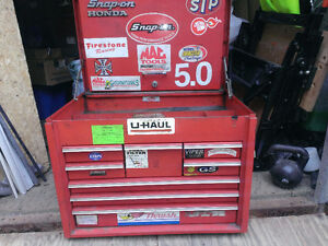 USED SNAP-ON 8 DRAWERS TOOL BOX, $250.00 FIRM