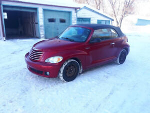 pt cruiser decapotable , turbo 2006 ,bas mlllage ..