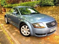 **IMMACULATE** 2005 AUDI TT 1.8 QUATTRO TURBO DSG AUTO BLUE 190 BHP LEATHER