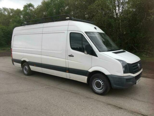 065f88f851 Volkswagen Crafter LWB 63 plate