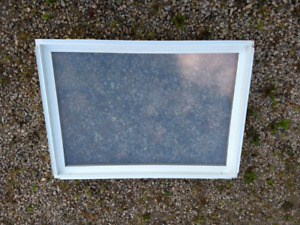 Fixed vinyl window 45 1/4 x 32 3/4