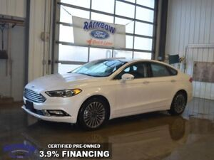 2017 Ford Fusion SE  - Certified - Heated Seats -  Navigation
