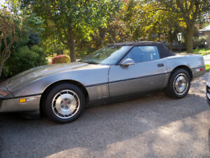 1987  CHEV. CORVETTE CONERTIBLE
