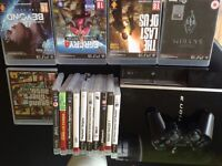 PS3 40gb with games