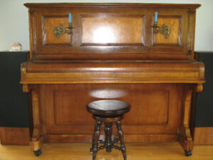 Steinberg Antique Upright Piano (age estimate 145 years)