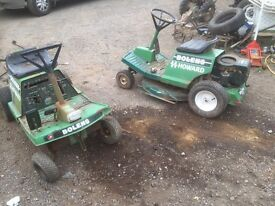 Two bolens Howard rough cut mowers