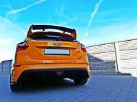 Cup Spoilerlippe Carbon für Ford Focus ST MK3 Facelift Lippe Splitter Front V2