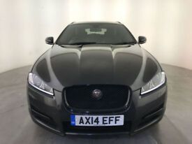 2014 JAGUAR XF R-SPORT DIESEL AUTOMATIC 1 OWNER SERVICE HISTORY LEATHER INTERIOR