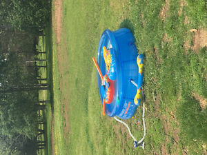 8ft Bestway pool. Great for small kids!