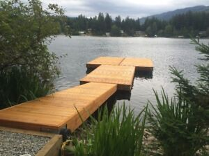 Western Red Cedar Floating Docks