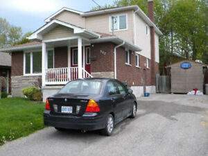 Basmant apartment for rent in wilson road north oshawa