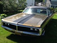 1972 Big Block 400 Mopar , Chrysler 2 door Newport new Mvi