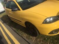 SEAT IBIZA FR LADY OWNER LOW MILEAGE FULL SERVICE ! REDUCED PRICE READ ADD