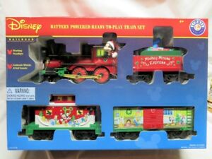 Lionel DISNEY Mickey and Friends, Ready 2 Play, Childs Train Set