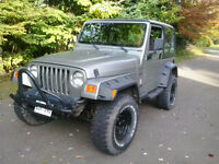 1998 Jeep TJ wrangler --TRADE ONLY