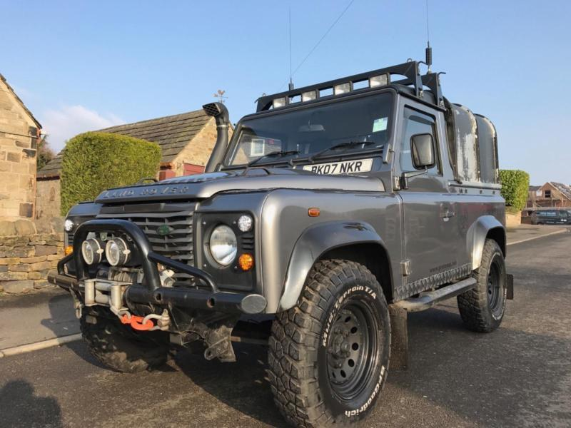 2007 land rover defender 90 2 4 tdi pick up in tingley. Black Bedroom Furniture Sets. Home Design Ideas