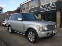 2003 Land Rover Range Rover 3.0 Td6 Auto Vogue 5DR 03REG Diesel Silver