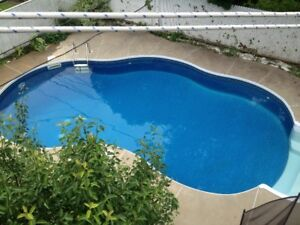 Chomedey 8 1/2 with private in-ground fenced pool