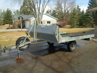 Snowmobile/utility trailer