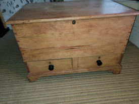 Aged Large Solid oak trunk