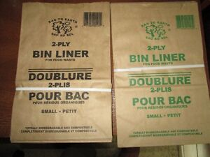 Kitchen bin liners for compostables (small) Kitchener / Waterloo Kitchener Area image 1