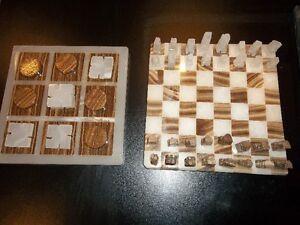 Jeu  d'échecs et tic tac toe