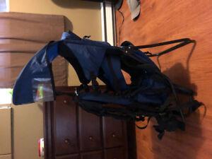 Infant/child backpack carrier