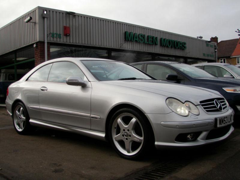 2003 mercedes benz clk 240 automatic avantgarde amg for Mercedes benz clk 240