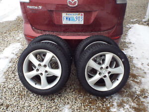 ATTENTION ALL MAZDA OWNERS   215-50-17 SOLD PPU FRI.
