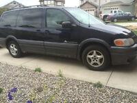 2004 Pontiac Montana Blue Minivan, Van