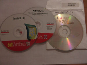 SoftWindows 98 for Mac Install Disks