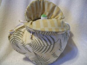 brand new ferns and fronds tea-cozy