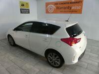 White Toyota Auris 1.8 VVT-i HSD E-CVT ***FROM £226 PER MONTH***