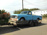 1969 C10 air bag front suspension and rear tub 4 link