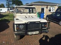 Land Rover 110 pick up