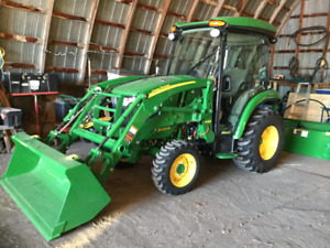 John Deere 3039R Tractor and Attachments