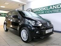 Volkswagen Up 1.0 HIGH UP 75PS [4X VOLKSWAGEN SERVICES, 20 ROAD TAX and HEATED S