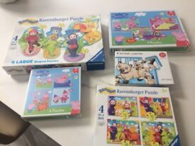 Selection of toddler puzzles