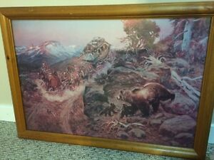 Various art work/framed pictures Prince George British Columbia image 3