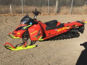 2016 Ski-Doo Summit X 163 with T3 Package Rotax 800R E-TEC Matte