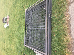 Almost New Outdoor Dog Cage Kitchener / Waterloo Kitchener Area image 1