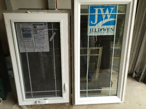 Jeld-wyn NEW white vinyl casement style WINDOWS