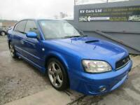 2003 SUBARU LEGACY 2.0 4WD AUTO LTD EDN B4 RSK EDN TWIN TURBO 4 DR SALOON (S4)
