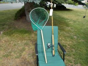 Fuji 8ft Rod with NEW Ecliipse Spin Rod & Fish Net
