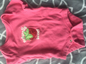 0-3 months baby girls clothing