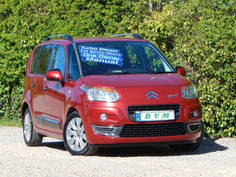 citroen c3 picasso 1 6hdi 8v 90bhp exclusive in taunton somerset gumtree. Black Bedroom Furniture Sets. Home Design Ideas