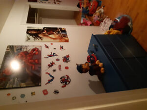Chambre spider man complet