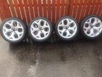 BMW X5 X6 alloy wheels and tyres
